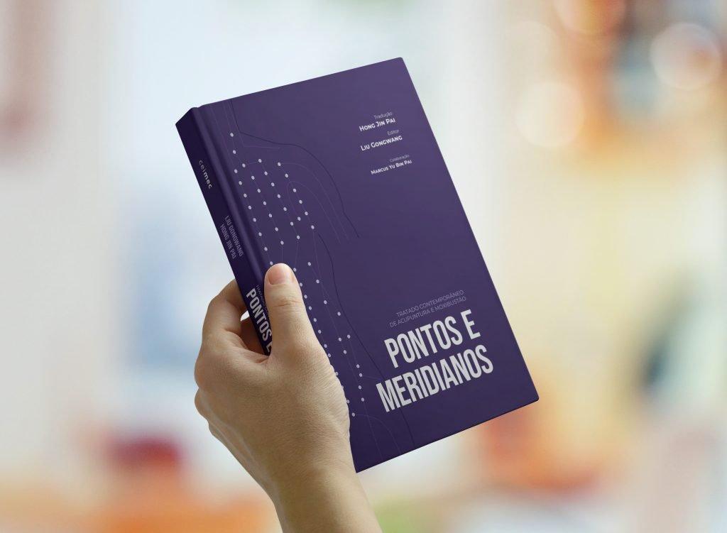 Livro Pontos e Meridianos - Hong Jin Pai (CEIMEC) - 1a edição atualizada 2020